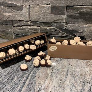 Perles de meringues chocolatées
