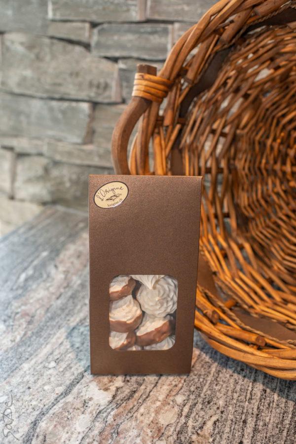meringues chocolatées l'origine
