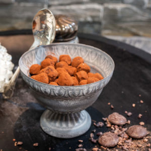 Truffe chocolat nature l'Origine Chocolaterie artisanale