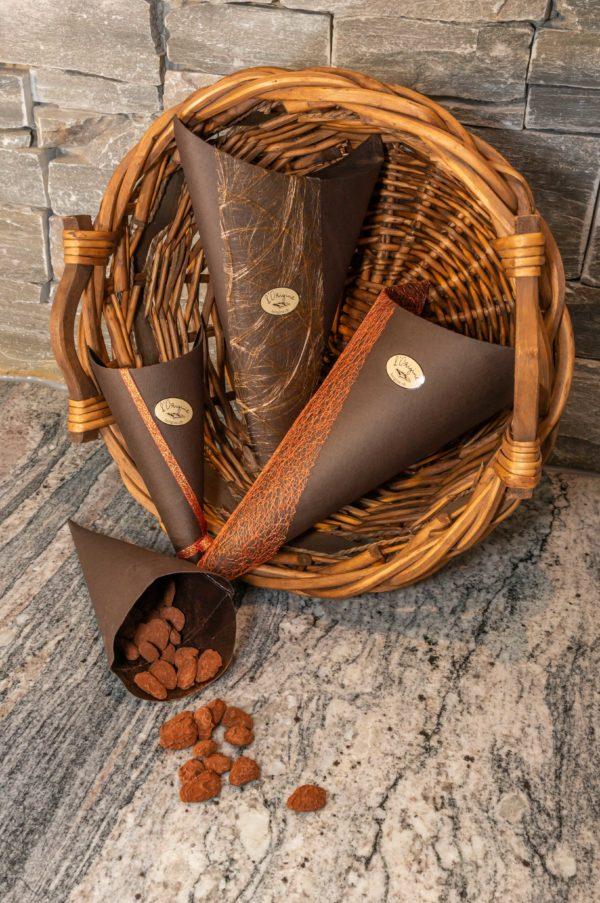 amandes enrobées l'Origine chocolaterie artisanale